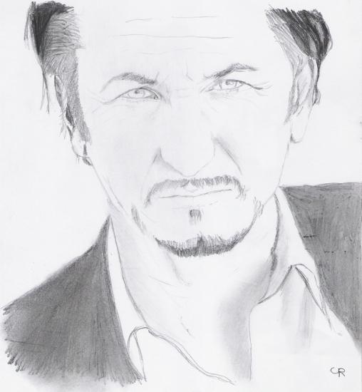 Sean Penn por Carine